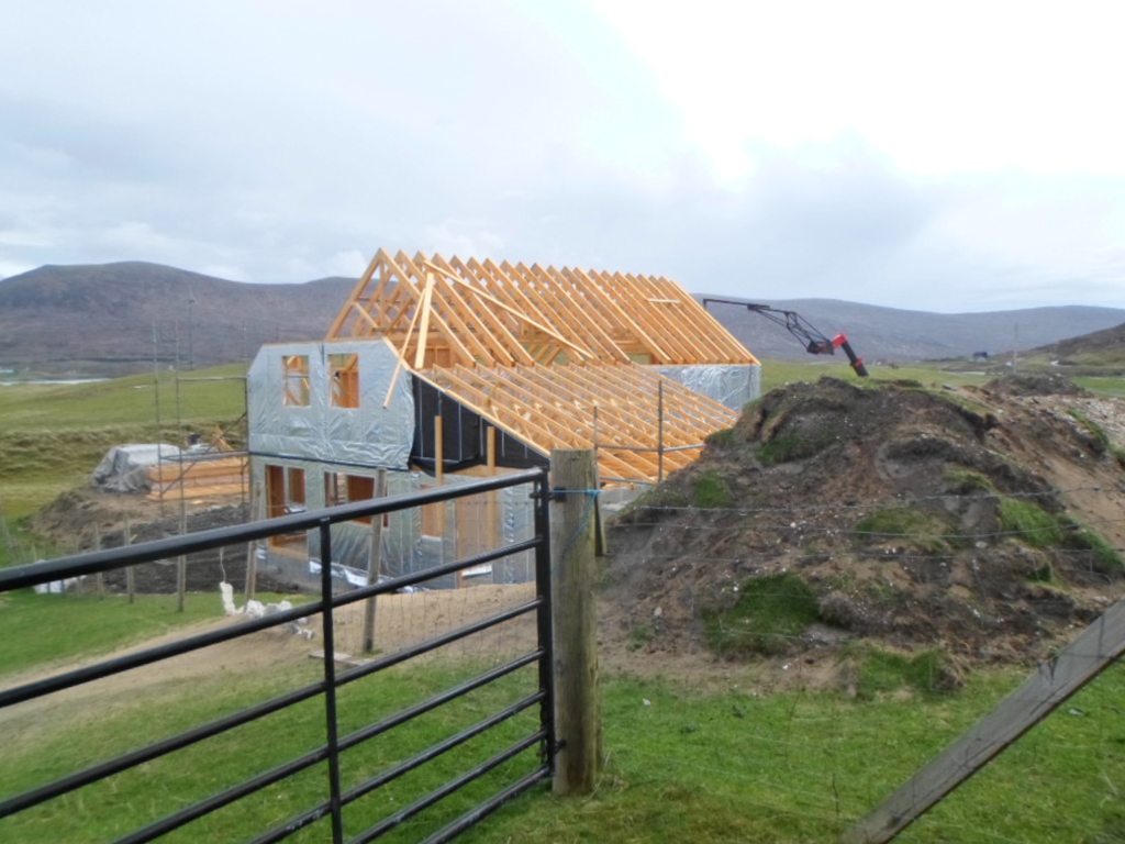 Funds to Build a Detached House for Holiday Letting