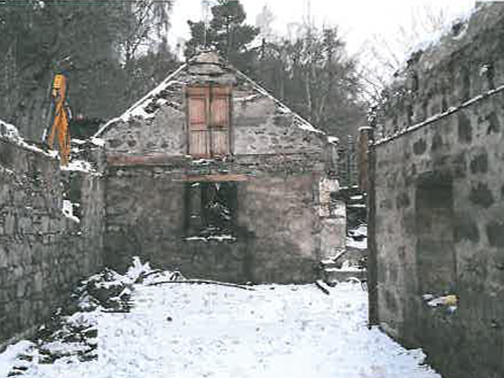 Development Finance for the Conversion of a Scottish Steading into 3 Houses