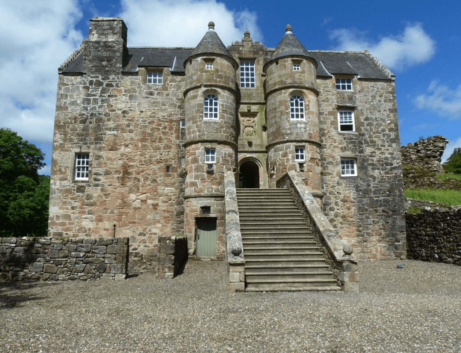 Funds for the Renovation of a 16th Century Castle